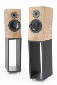 PYLON AUDIO Diamond MONITOR DĄB OLEJOWOSK SMOKED OAK PARA