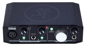 MACKIE ONYX ARTIST INTERFACE AUDIO