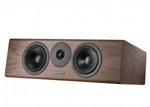 Dynaudio Evoke 25C ORZECH walnut wood