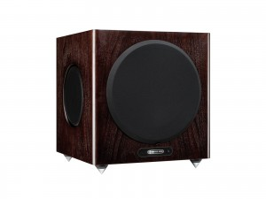 MONITOR AUDIO GOLD 5G W12 DARK WALNUT - Subwoofer aktywny