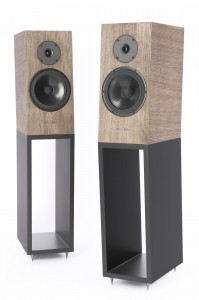 PYLON AUDIO Diamond MONITOR DĄB OLEJOWOSK BLACK PARA
