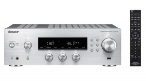 PIONEER SX-N30AE + AS-DB100 SREBRNY